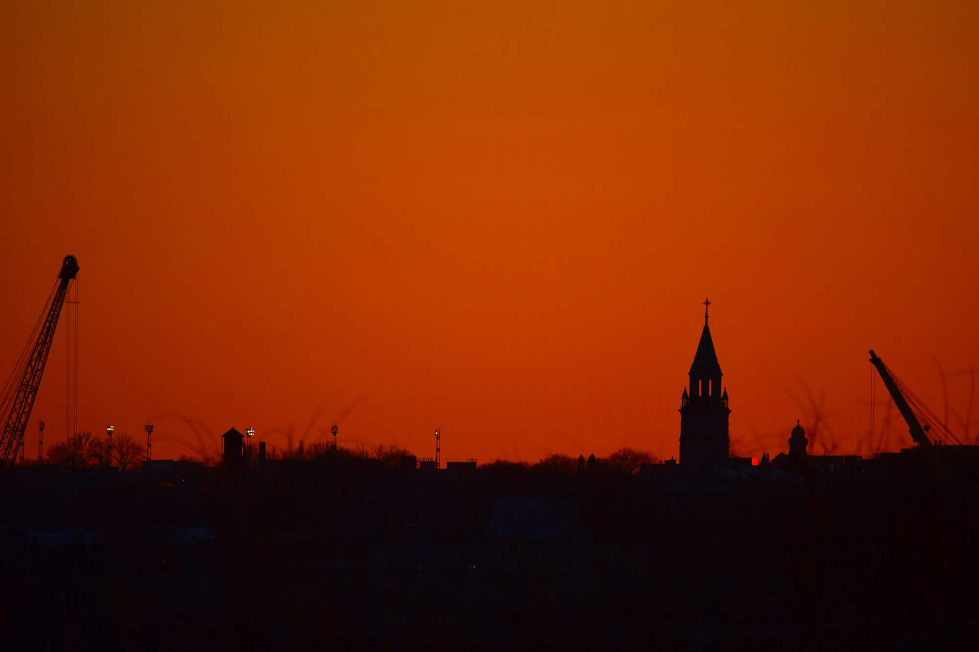 East Montreal photo of sunset