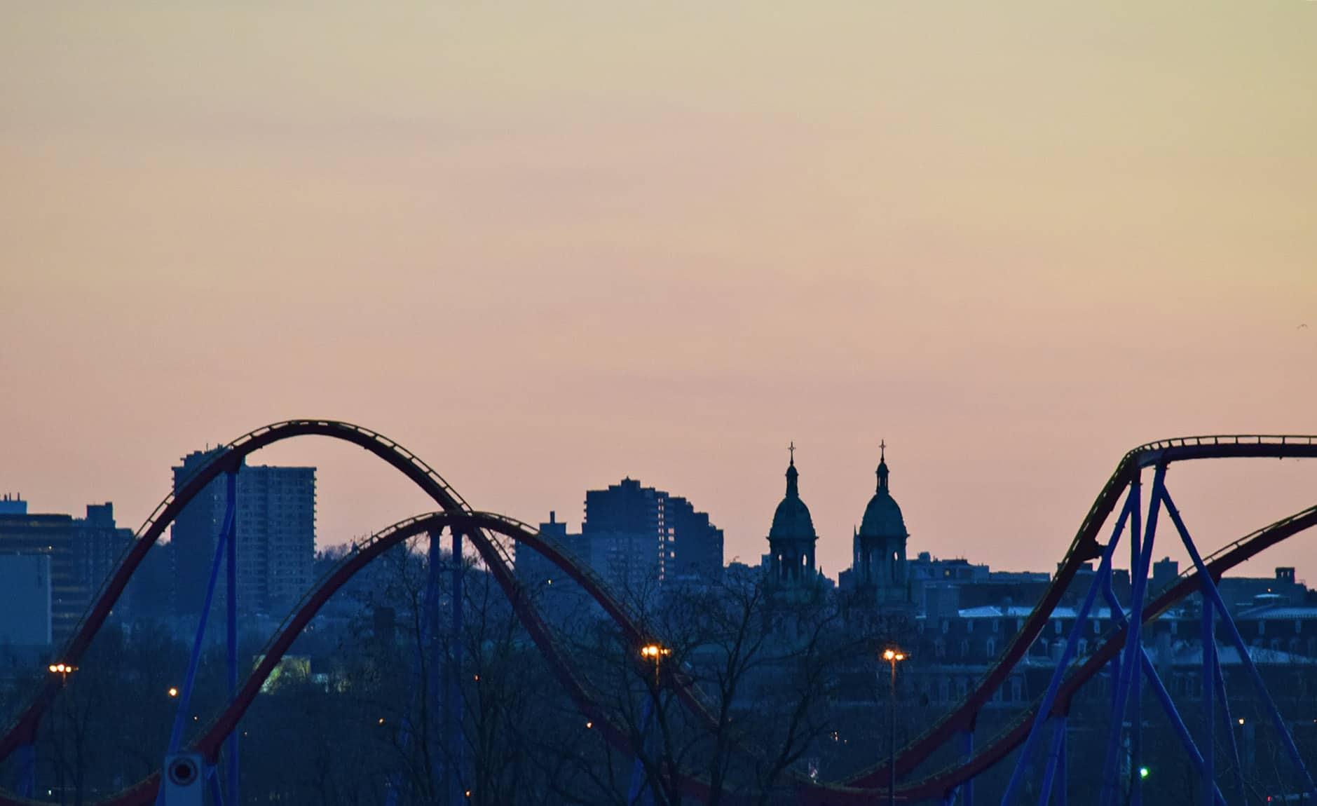 La Ronde Montreal Sunset