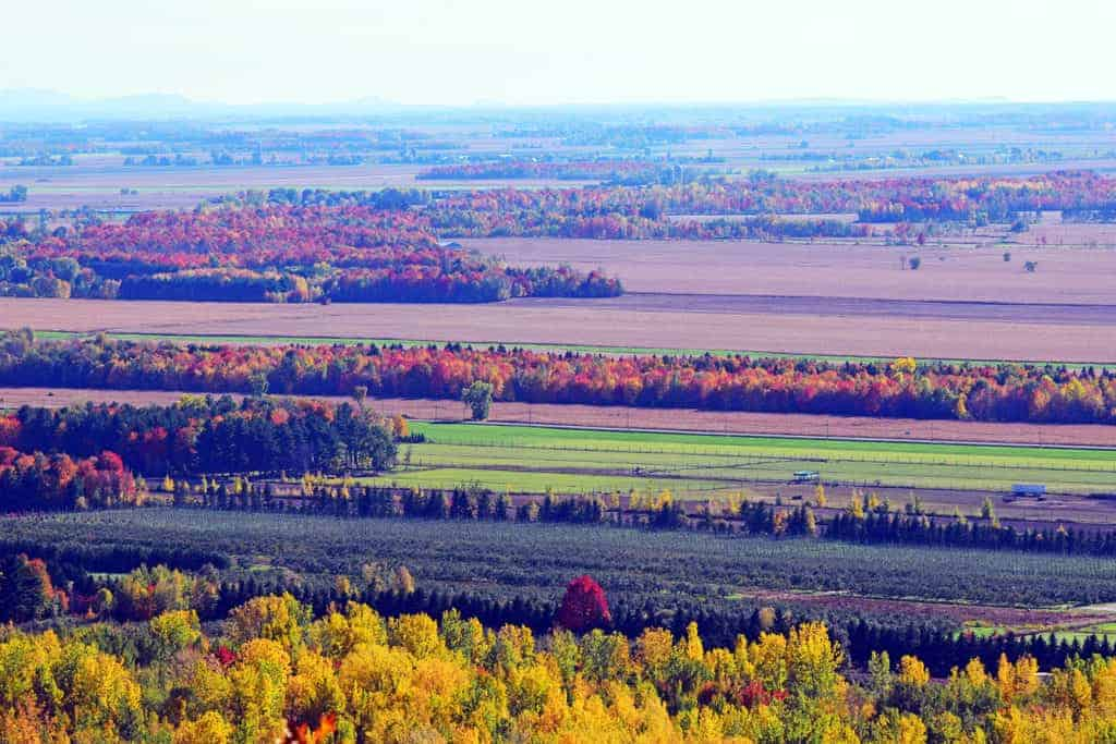 Pictures of the fall in quebec