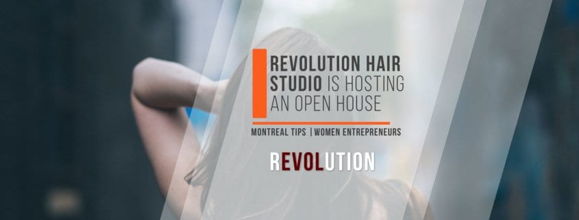 Revolution Hair Studio is hosting an open house