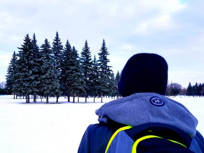 The Backpack Hood in Canada